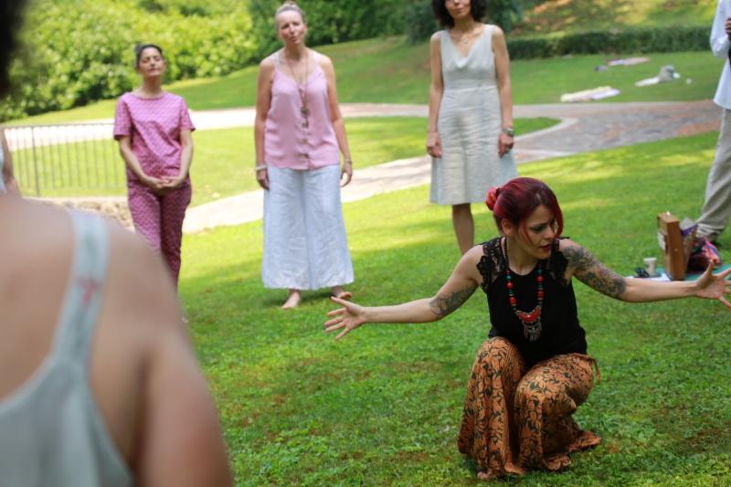 foto: Monia Zambon Lezioni di Canto Milano Bagno di Gong Milano